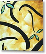 Simply Glorious 2 By Madart Metal Print