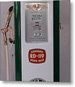 Sinclair Antique Gas Pump Metal Print