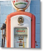 Sinclair Power-x Gas Pump Metal Print