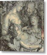 Sine Cerere Et Libero Friget Venus Metal Print