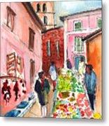 Sineu Market In Majorca 05 Metal Print