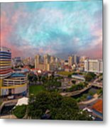 Singapore Rochor Commercial And Residential Mixed Area Metal Print