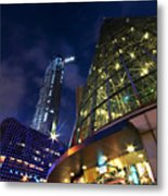 Singapore Shopping Paradise Metal Print