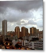 Singapore Skies Metal Print