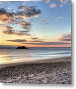 Singing Beach Manchester Ma Sunrise Island Metal Print