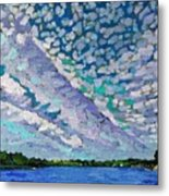 Singleton Altocumulus Morning Metal Print