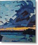 Singleton Sunset Stratocumulus Metal Print