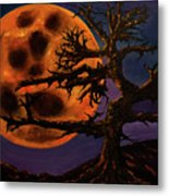 Sinister Moon Metal Print