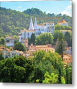 Sintra National Palace Aerial Metal Print