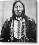 Sioux: Crow King Metal Print