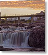 Sioux Falls Sunset Metal Print