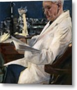 Sir Alexander Fleming Metal Print