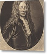 Sir Christopher Wren Metal Print