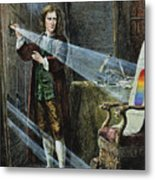 Sir Isaac Newton Metal Print