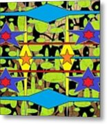 Sir Mbonu Christhe Arts Of Textile Designs #30 Metal Print