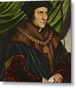 Sir Thomas More Metal Print