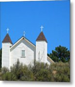Sisquoc Church Metal Print