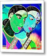 Sister Bonds-2 Metal Print