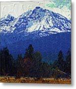 Sisters Oregon Ranch Metal Print