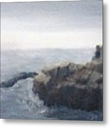 Sisters Rocks Lake Superior 2 Metal Print