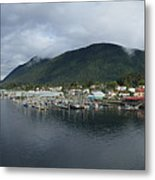 Sitka Alaska From The John O'connell Bridge Is A Cable-stayed Bridge 2015 Metal Print