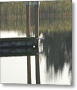 Sitting Bird Metal Print