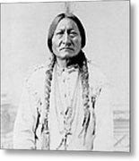 Sitting Bull, A Hunkpapa Lakota Tribal Metal Print