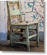 Sitting In Candyland Metal Print