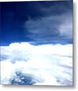 Sitting In The Clouds Metal Print
