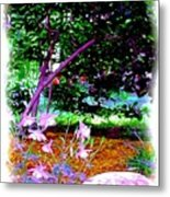 Sitting In The Shade Metal Print