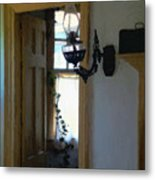 Sitting Room Doorway Metal Print