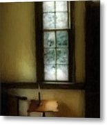 Sitting Room Spring Rain Metal Print