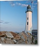 Situate Lighthouse Metal Print
