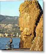 Siwash Rock Stanley Park II Metal Print