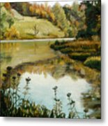 Six Mile Creek Ithaca Metal Print