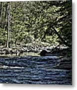 Six Mile Creek Ithaca Ny Metal Print