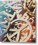 Sixties Peace Revolution Metal Print