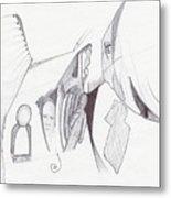 Sjb-27 Metal Print