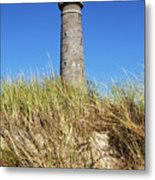 Skagen Denmark - Lighthouse Grey Tower Metal Print