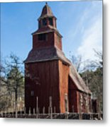 Skansen Church Metal Print