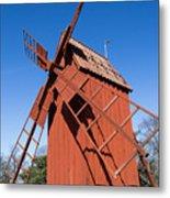 Skansen Windmill Metal Print
