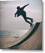 Skater Boy 007 Metal Print
