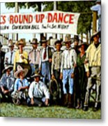 Skeeter Bill's Round Up Metal Print
