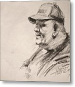 Sketch Man 15 Metal Print
