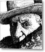 Sketch Of Picasso Metal Print