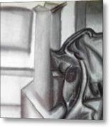 Sketchy Metal Print
