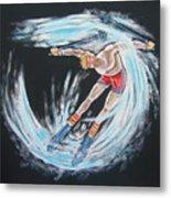 Ski Bum Metal Print