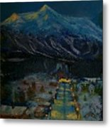 Ski Resort Metal Print