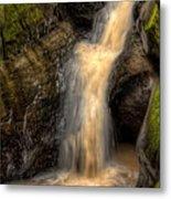 Skillet Creek Into The Deep Pool Metal Print