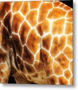 Skin Deep - Buy Giraffe Art Prints Metal Print